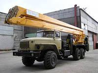 автовышка вездеход в аренду на базе Урал ВС-22.05