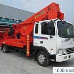 автовышка Novаs 450Q на базе грузовика Hyundai аренда